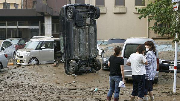 Japan: Dozens dead, missing in floods