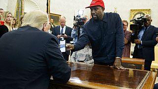 Kanye West con Donald Trump, ottobre 2018