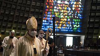 Rio: istentisztelet járvány idején