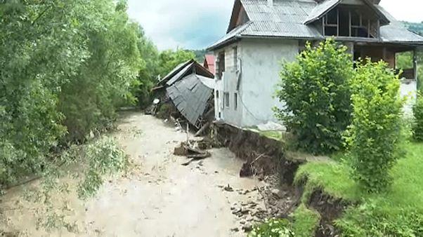 Villámáradások Románia nyugati részén