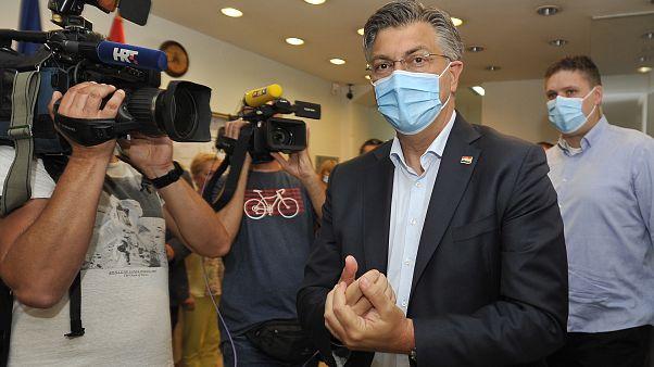 Jobbközép győzelem született a horvát parlamenti választáson