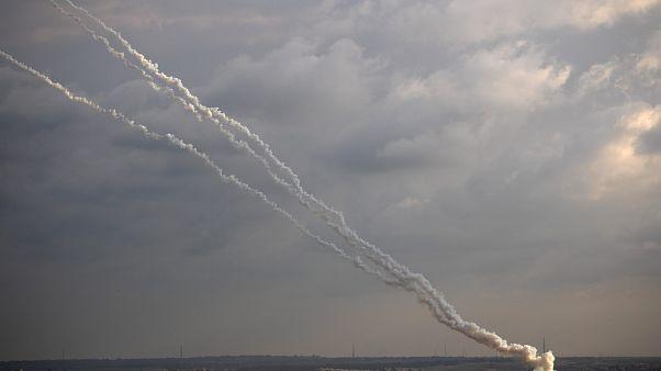 صواريخ أطلقت من غزة باتجاه إسرائيل - 2020/02/24