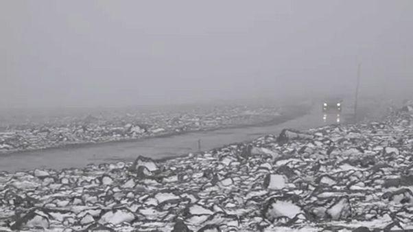 Χιόνισε στη Νορβηγία