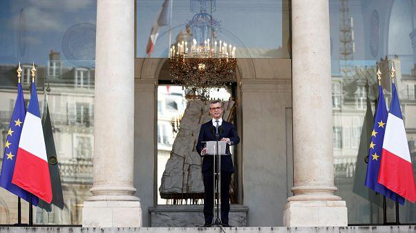 L'annonce de la composition du gouvernement par Alexis Kohler, Secrétaire Général de l'Elysée