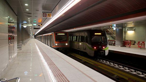 Ο σταθμός του Μετρό στον Κορυδαλλό