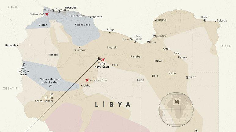 Libya'da Vatiyye askeri üssünü kim vurdu?