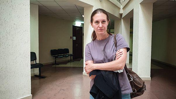 Светлана Прокопьева в суде.