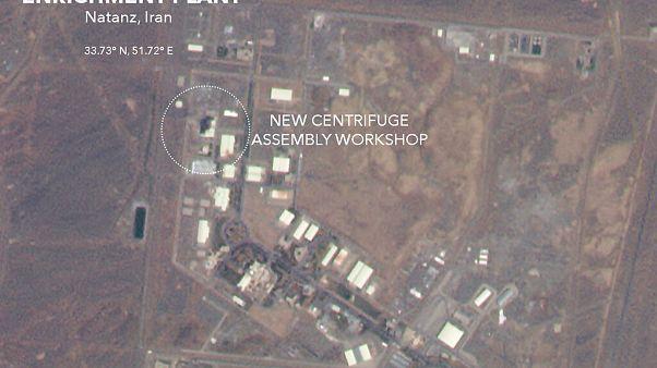 Visszaveti Irán atomprogramját a natanzi tűzeset