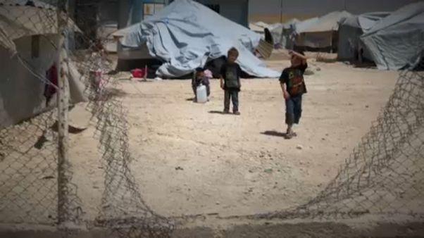 ISIS-Kinder europäischer Eltern kehren langsam aus Flüchtlingslagern zurück