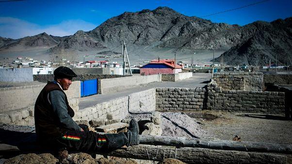 Imagen de archivo de 2014 de Bayan-Ulgii, en Mongolia, donde hubo un brote de peste el año pasado.