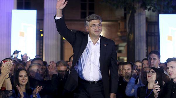 La Croatie en route vers une coalition, après une victoire trop courte du HDZ