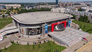 A belgrádi Štark Aréna 2019. július 1-jén.