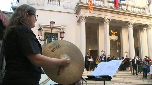 Neustart der Oper La Fenice in Venedig
