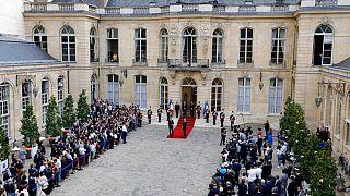 مراسم معارفه نخستوزیر جدید فرانسه