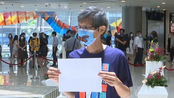 Poderes alargados para a polícia em Hong Kong