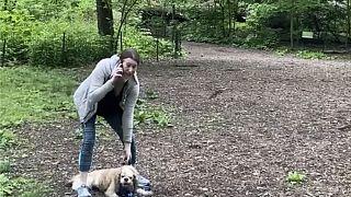 ABD'nin New York kentinde köpeğini gezdirirken tartıştığı siyahi kuş gözlemcisini 'kendisini tehdit ettiği iddiasıyla polisi arayan Amy Cooper hakkında dava açıldı