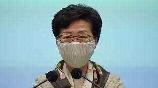 """كاري لام تتعهد بتطبيق قانون الأمن القومي في هونغ كونغ بـ""""صرامة"""""""