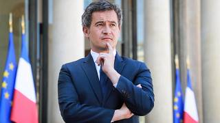 وزير الداخلية الفرنسي جيرالد دارمانان