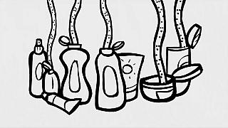 Microplastiche e plastiche liquide nei detergenti