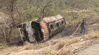 Tragedia en Colombia al inflamarse un camión cisterna