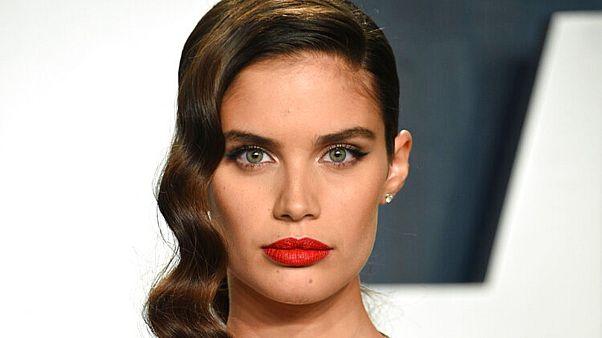 Portuguese model Sara Sampaio deemed the front cover in bad taste