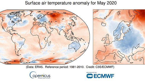 """""""Καμίνι"""" και η Σιβηρία! - Ο Ιούνιος του 2020 ο πιο ζεστός από ποτέ στον κόσμο"""