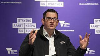 Victorian Premier Daniel Andrews, July 6, 2020.