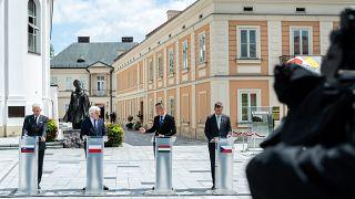 V4 külügyminiszteri találkozó Varsóban