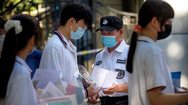 China - Students - Entrance exams