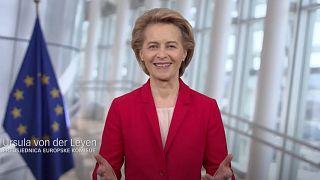 Ursula von der Leyen a horvát kampányvideóban