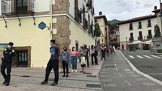 País Vasco: test masivos en Ordizia en vísperas de las elecciones