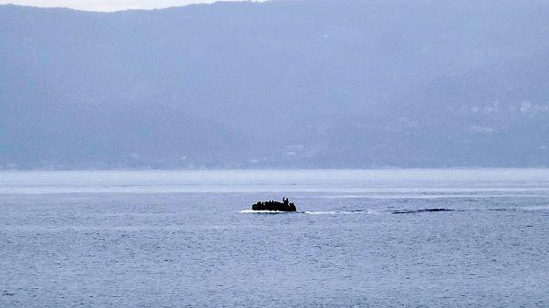 Greece migrants - file photo