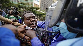 Többeket letartóztattak a rendőri erőszak elleni tüntetésen Kenyában