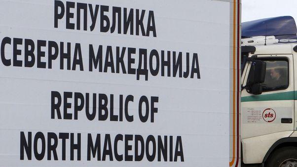 Kuzey Makedonya sınırı