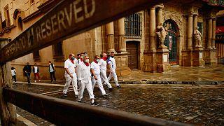 İspanya İç Savaşı'ndan bu yana bir ilk: Boğa koşusu ile ünlü San Fermin Festivali yapılmadı