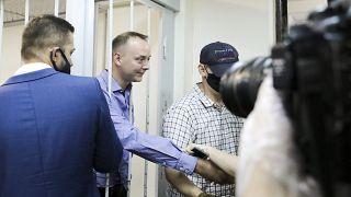 Иван Сафронов в суде.