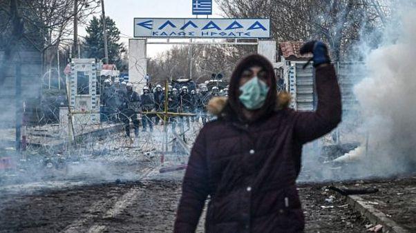 Yunan sınırı
