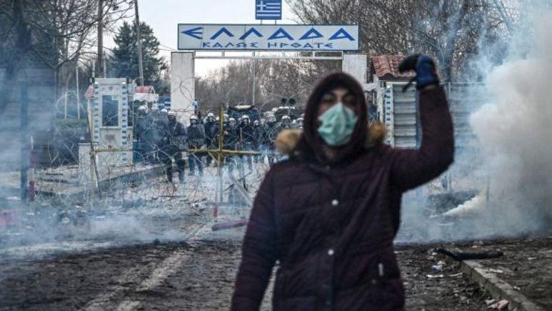 Türk-Yunan sınırında göçmen krizi