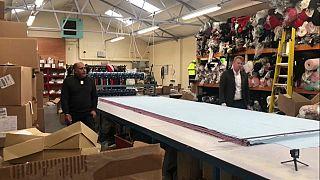 A vesztegzár alatt is dolgoztatták a bevándorlókat Leicester textilgyáraiban