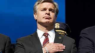 May 13, 2019, file photo, FBI Director Christopher Wray