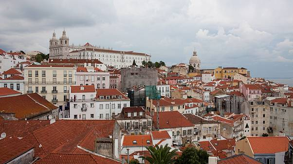 Lisbon's Alfama neighbourhood, Portugal