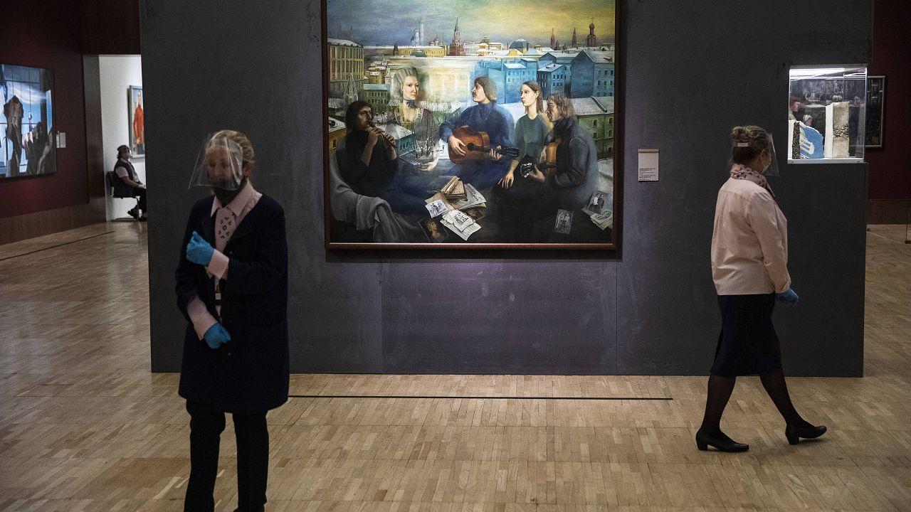 L'art à l'ère soviétique à la Galerie Tretiakov de Moscou