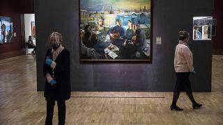 """Выставка """"Ненавсегда"""" в Новой Третьяковке"""
