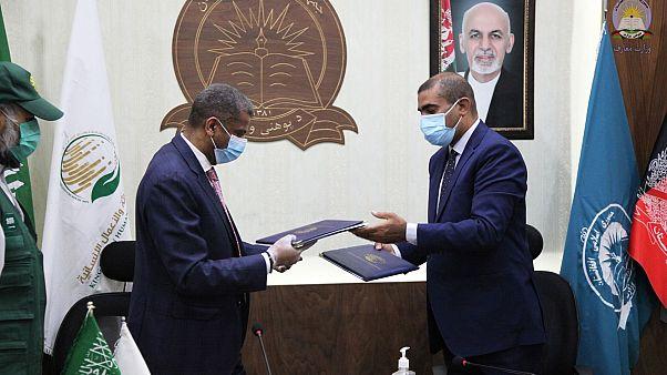 دیدار وزیر معارف افغانستان و سفیر عربستان