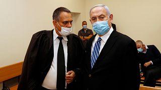 Avukat Micha Fettman ve Benyamin Netanyahu