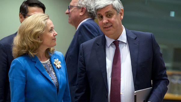 Francia anuncia su apoyo a Nadia Calviño como presidenta del Eurogrupo