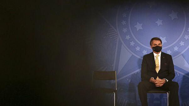 Jair Bolsonaro anunciou dia 7 de julho que tinha testado positivo para Covid-19