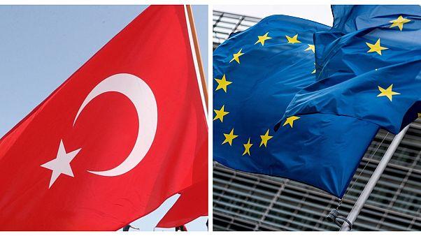 Brüksel'de toplanan AB dışişleri bakanlarının gündemi Türkiye'ye yaptırım