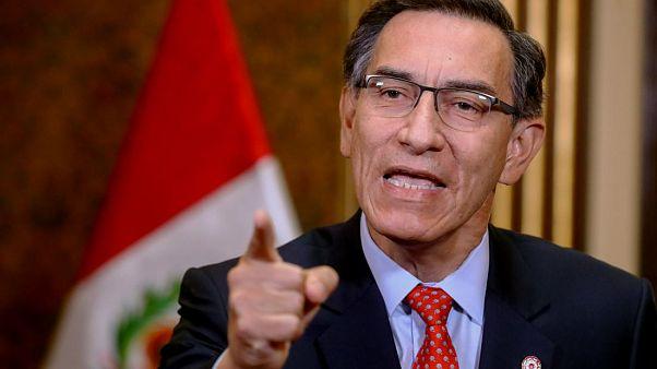 El presidente de Perú, Martín Vizcarra, convoca a elecciones generales