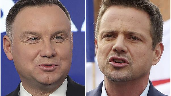 Duda ahead by tiny margin in Polish election